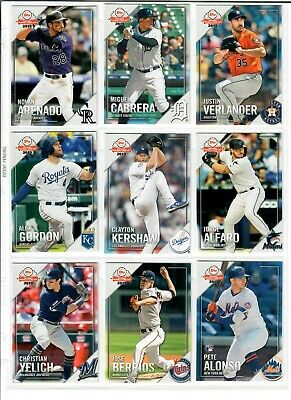 2019 Topps National Baseball Card Day 1-30 Pick TROUT ALONSO ACUNA ELOY HARPER + 2