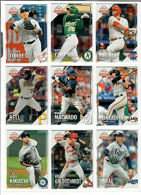 2019 Topps National Baseball Card Day 1-30 Pick TROUT ALONSO ACUNA ELOY HARPER + 3
