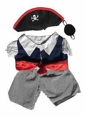 Pirate Clothing Outfit by Stufflers – Will fit on a Build a bear