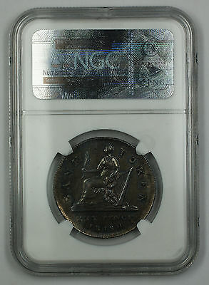 1808 Bank of Ireland 30P Token Coin George III NGC KM-Tn4 Harp Points AU-55 AKR