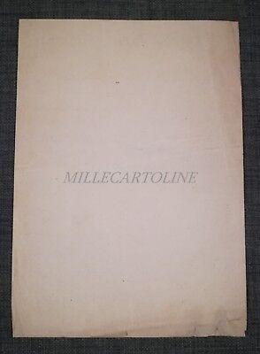 COMANDO INGLESE - Volantino Asta Cavalli Esercito Britannico - Lonigo WWI 1919 2