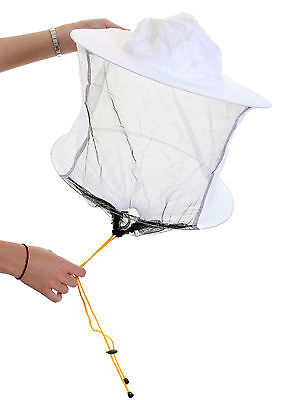 Beekeeping White cotton bee hat and Veils TOGGLE 5