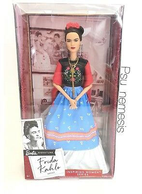 ❤ Frida Kahlo Mattel Barbie Doll Inspiring Women Series Mexican Artist IN STOCK❤ 2
