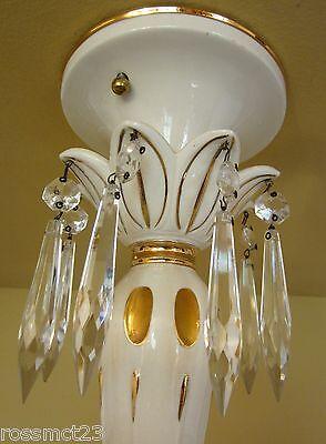 Vintage Lighting extraordinary porcelain pendant by Porcelier 2