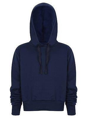 Cropped Hoodie Top Ladies Girls Pullover Hoodies Sweatshirt Hoody New Jogging 5