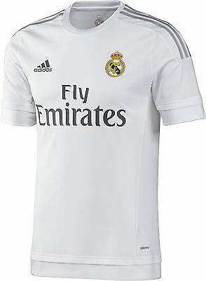 3f65a0f28 ... Adidas Cristiano Ronaldo Real Madrid Authentic Home Uefa Cl Match  Jersey 2015 16 2