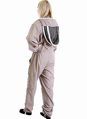 Lightweight BUZZ Beekeepers Bee suit - Colour latte, X X LARGE ( 2XL ) 5