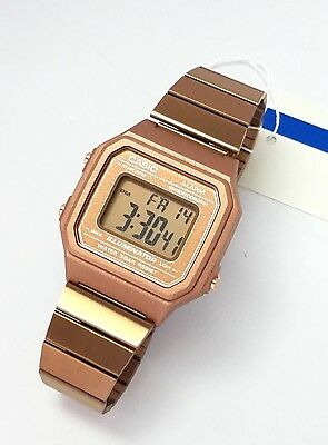 CASIO Digital  Alarm Rose Gold Stainless steel B650WC-5  B650 New B650WC 2