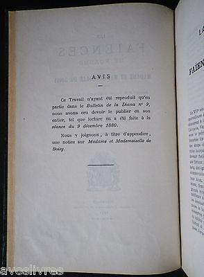 Révérend Du Mesnil LES FAÏENCES DE ROANNE 1881 DE BOISY Forez Oiron Gouffier