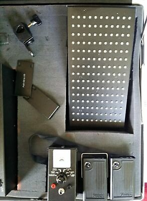 Audex Infra Red Assistive Listening Device Sample Kit Emitter Receiver in Case 5