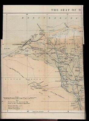Vogt THE EGYPTIAN WAR OF 1882, Egypt BOMBARDMENT of ALEXANDRIA Suez BRITISH ARMY 12