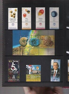 libros de sellos año 2002 de Israel 2