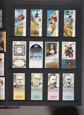 libros de sellos año 2002 de Israel 5