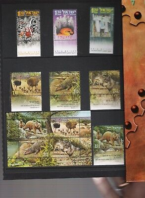 libros de sellos año 2005 de Israel 2