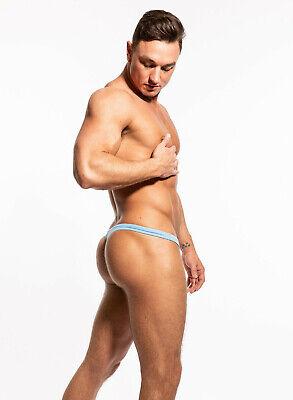 N2N Bodywear Men ice blue Rayon G-string thong underwear S M L XL