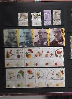 libros de sellos año 2002 de Israel 4