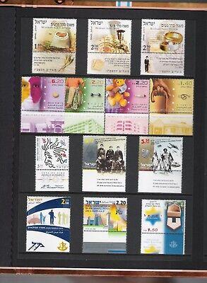 libros de sellos año 2005 de Israel 4