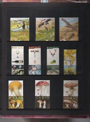 libros de sellos año 2002 de Israel 3