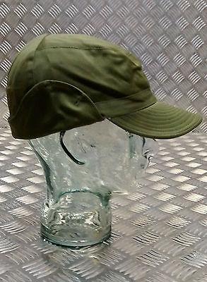 f71beca0b6e ... Genuine Swedish Army Green M59 Combat Fatigue Baseball Cap Hat - All  Sizes -