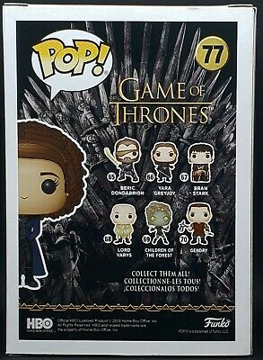 Funko Pop + Protector! Game of Thrones #77 - Missandei 2019 NYCC Exclusive MINT 6