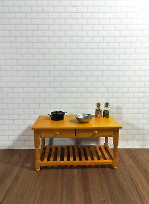 Dollhouse Miniature White Subway Metro Wall Tile Textured Gloss Paper 1:12 Scale