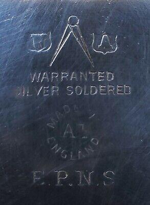 Warranted Silver Soldered Creamer Pitcher Jug 3