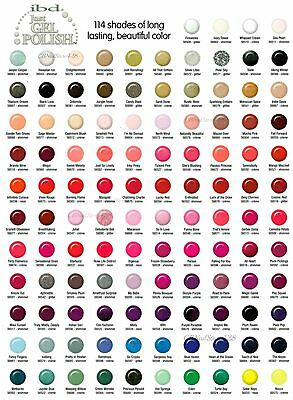 IBD Just Gel Nail Polish - Choose Any Colors - Series 3 2