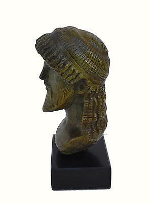 Zeus bust head God King of  all Ancient Greek Gods sculpture artifact 6
