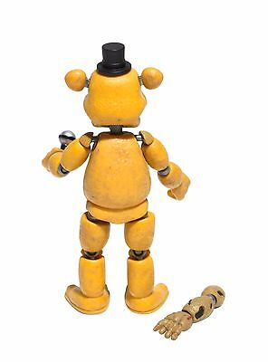 2 Of 3 FNAF Five Nights At Freddys Golden Freddy Articulated Action Figure New