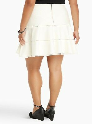 a82143e68 TORRID FLARED SWEATER skater skirt - plus size 1 (1X) (14/16) NWT ...