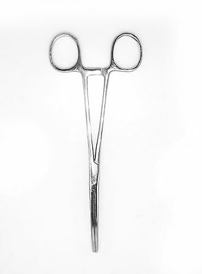 """2pc Set 12"""" + 16"""" Curved Hemostat Forceps Locking Clamps Stainless Steel 2"""