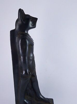 RARE ANCIENT ANTIQUE EGYPTIAN Statue Egypt Bastet Cat Goddess Figurine Bc 6