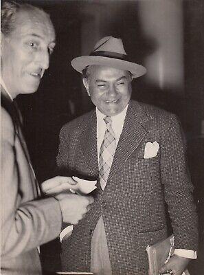 Edward G.Robinson,1948 , 2 tirages argentiques  vintage 2