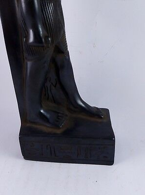 RARE ANCIENT ANTIQUE EGYPTIAN Statue Egypt Bastet Cat Goddess Figurine Bc 5