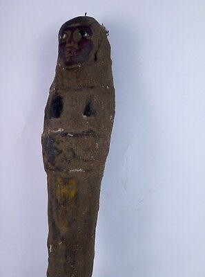 RARE ANCIENT EGYPTIAN ANTIQUE Statue Ushabti Mummy Shabti Kingdom 600 Bc 4