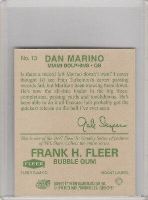 1997 Fleer Goudey II #13 Dan Marino