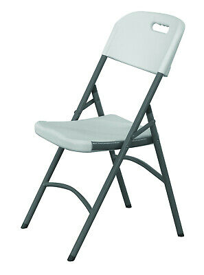 Heavy Duty 6Ft 1.8M Folding Table + 8 Chairs Catering Camping Trestle Market Bbq 5