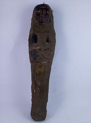 RARE ANCIENT EGYPTIAN ANTIQUE Statue Ushabti Mummy Shabti Kingdom 600 Bc 2