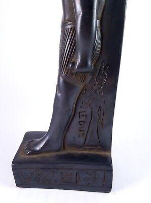 RARE ANCIENT ANTIQUE EGYPTIAN Statue Egypt Bastet Cat Goddess Figurine Bc