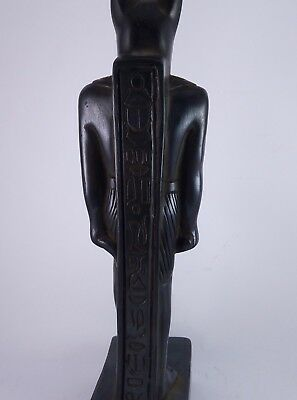 RARE ANCIENT ANTIQUE EGYPTIAN Statue Egypt Bastet Cat Goddess Figurine Bc 8