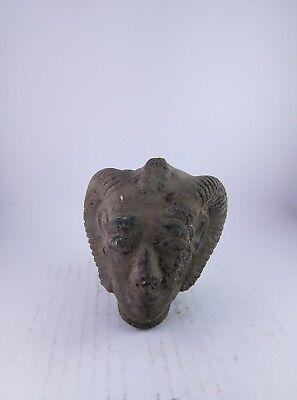 RARE ANCIENT EGYPTIAN ANTIQUE Egypt God of Head Khnum Khnemu 1534 Bc 2