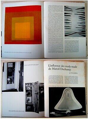 1973 Fine ROBERT INDIANA & HANS HARTUNG original LITHOGRAPHS XX Siecle ART BOOK 10