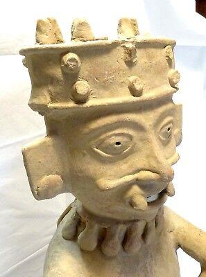 Very Large Figure Veracruz - Pre-columbian 500 ad - Ancient Remojadas Figure 8