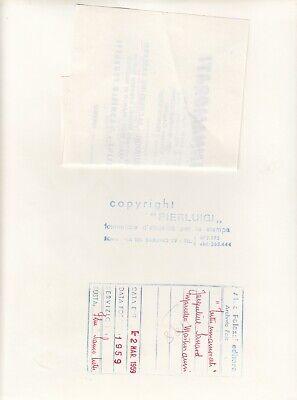 """©Pierluigi 1959, Marcello Mastroianni et divers """"TUTTI INNAMORATI"""" 6 tirages 12"""