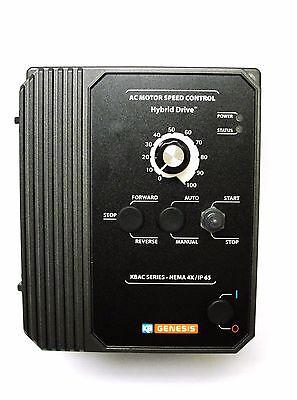 KB Electronics KBAC-29 10001 AC motor control 230v 1ph input 3HP 9A 230v 3ph out 2