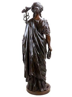 Griega Mitología Estatua de Bronce - Hygieia Diosa de la Salud- Limitada 7