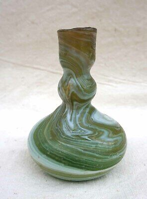 Balsamarium Bysantine Ampulla Ribbon Glass 6/8 th Century 2