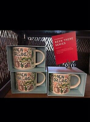 "New Starbucks ""Been There Series"" New Orleans 14oz Mug. WITH BOX. Shipped USPS 2"