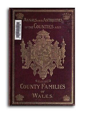 470 Rare Welsh History Genealogy Books 3 DVDs - Wales Traditions Family Tree L6 2