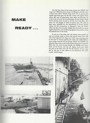USS Kearsarge CVA 33 CRUISE BOOK 1954-1955 CD Crew Photos Navy